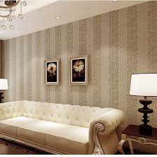 Striped Sofas Living Room Furniture Modern Simple Nonwoven Stripe Wallpaper Vertical Stripe Sofa