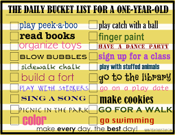 daily activities to do with your one year old today u0027s the best day