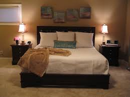 bedroom large decorating ideas brown and cream plywood pillows