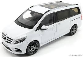 mercedes minivan norev b66004156 scale 1 18 mercedes benz v class minibus w447