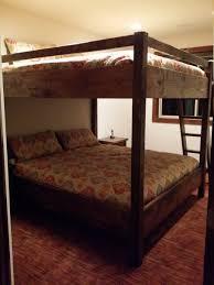 Bunk Beds King Custom Bunk Bed Rooms Lake Tahoe King King Bunk Bed
