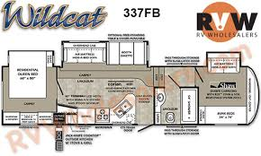 2013 wildcat 337fb fifth wheel by forest river stock 027700