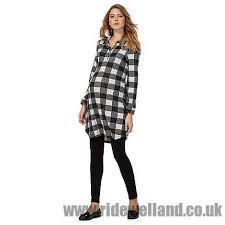 herring maternity herring maternity grey checked shirt dress women s casual