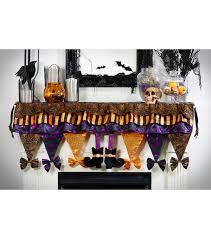 maker u0027s halloween fabric witch legs mantle scarf multi joann