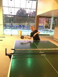Pool And Ping Pong Table Ping Pong Table Outside The Indoor Pool Area Picture Of Glen