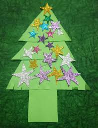 christmas tree crafts ideas for toddlers and preschoolers
