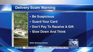 Basketball Coach Business Cards Better Business Bureau Warns Of New Delivery Scam Abc7chicago Com