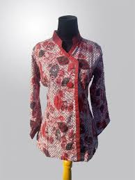 gambar model baju batik modern 49 gambar model baju batik 2018 full motif model baju muslimah