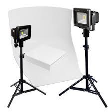 Photography Lighting Led Flood Light Tabletop Product Photography Lighting Kit With