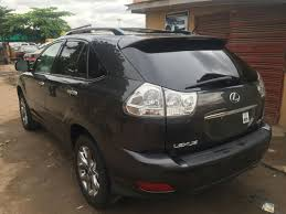lexus rx 350 for sale nairaland tokunbo rx 350 2009 for quick sales 5m autos nigeria