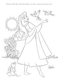 sleeping beauty coloring pages coloring pages for kids