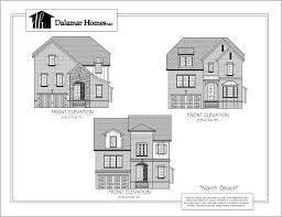 the north beach home plans dalamar homes