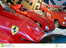 ferrari sport car logo of ferrari on sport car editorial stock photo image 9419513