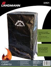 Landmann Grandezza Outdoor Fireplace by Accessories U0026 Covers Landmann Usa Grills Smokers U0026 Fire Pits