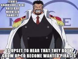 One Piece Meme - negligent garp meme on imgur
