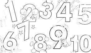 free coloring pages number 2 coloring page numbers gerin