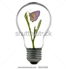 light bulb wind mill generator inside stock vector 111511547