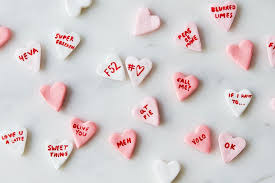 necco hearts to make conversation hearts for s day