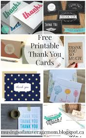 Online Business Card Maker Free Printable 47 Best Free Printable Thank You Cards Images On Pinterest Free