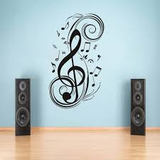 music note home decor diy musical note home decor music wall sticker removable vinyl decal