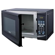 black friday microwave oven sunbeam 0 7 cu ft digital microwave oven black target