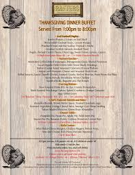 thanksgiving dinner for 8 rafter u0027s restaurant mammoth lakes ca