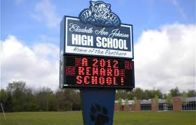 lighted message board signs electronic message board for schools signs by crannie