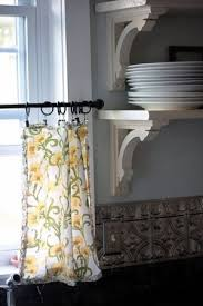 Modern Curtains For Kitchen Windows by Best 20 Contemporary Curtain Rods Ideas On Pinterest