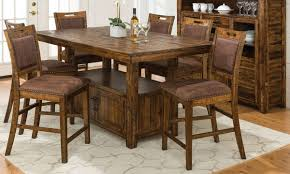 Counter Height Dining Room Furniture by Cannon Valley Adjustable Counter Height Dining Set The Dump