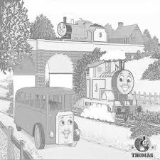 free thomas coloring pages kids arts crafts train
