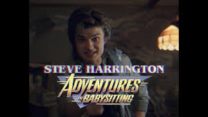 Adventures In Babysitting Meme - steve harrington adventures in babysitting vhs trailer youtube