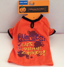 Extra Small Halloween Costumes Dog Shirt Size Xs Extra Small Enemies Zombies Halloween Costume