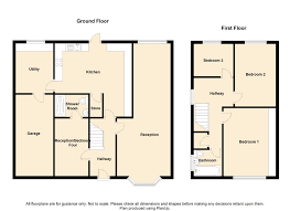 Semi Detached Floor Plans by 4 Bedroom Semi Detached House For Sale In Riddings Avenue