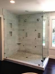 Bathroom Shower Door Seals Shower Bathroom Exciting Frameless Shower Doors With Daltile
