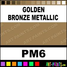 golden bronze metallic pearlescent metallic encaustic wax beeswax