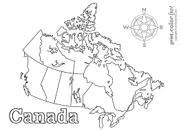 canada coloring page getcoloringpages com