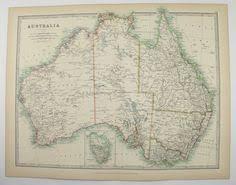 wedding gift australia australia map tasmania 1881 colton map cave decor gift for