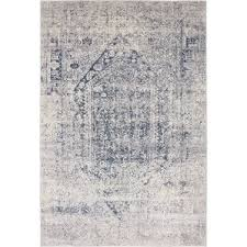 Black And Gray Area Rug Farmhouse Rugs Birch Lane