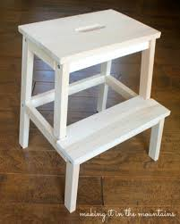 Ikea Outdoor Furniture 2014 A Quick And Easy Ikea Step Stool Makeover