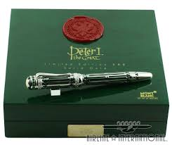 Executive Knight Pen Holder Montblanc Peter I The Great 888 Airline International Luggage