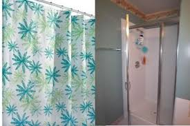 replace shower door with curtain rooms replace shower door with