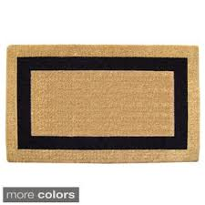Half Moon Doormat Door Mats Shop The Best Deals For Nov 2017 Overstock Com