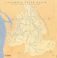 Columbia River Map The Art Of Eileen Klatt Salmon Pilgrim