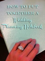 Our Wedding Planner Just Lovely Www How To Put Together A Wedding Planning Notebook