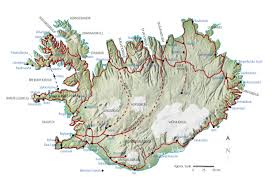 iceland map iceland maps printable maps of iceland for