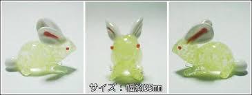 gppro rakuten global market phosphorescent glass bunny rabbit