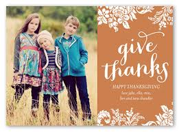 give thanks 5x7 stationery card thanksgiving cards shutterfly