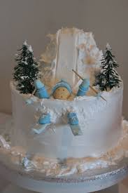 59 best cakes skiing images on pinterest skiing cakes and