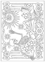 dead coloring pages dogs haven dead