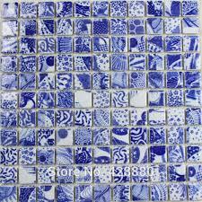 207 00 lot of 11 pcs porcelain mosaic tile kitchen backsplash